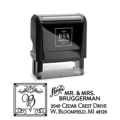 Bruggerman Return Address Stamp