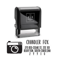 Camera Return Address Stamp