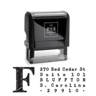 Franklin Return Address Stamp