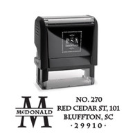 McDonald Return Address Stamp