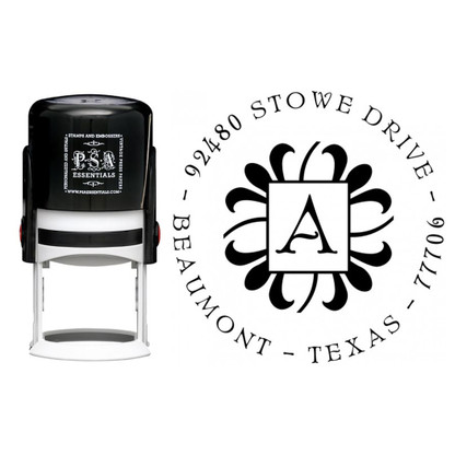 Personalized Abby Return Address Stamp