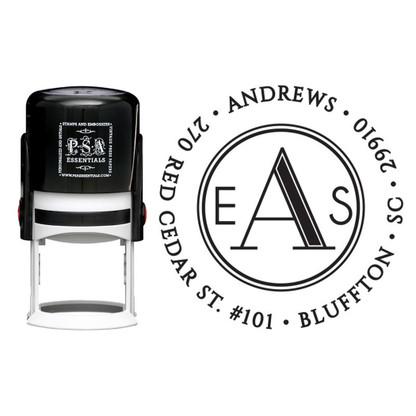 Personalized Andrews Return Address Stamp