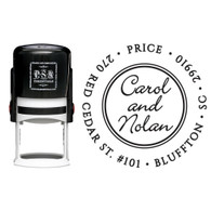 Personalized Carol Return Address Stamp