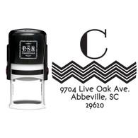 Personalized Charlie Return Address Stamp