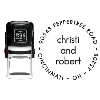 Personalized Christi Return Address Stamp