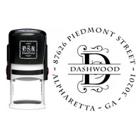 Personalized Dashwood Return Address Stamp