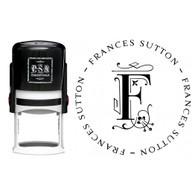 Personalized Frances Return Address Stamp