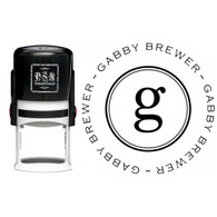 Personalized Gabby Return Address Stamp