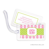 Beti Pink Laminated Bag Tag