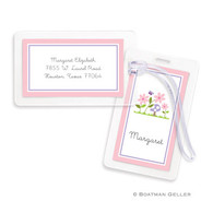 Bloom Laminated Bag Tag