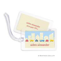Cars Laminated Bag Tag