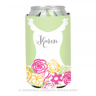 Personalized Formal Bride Koozie in Spring