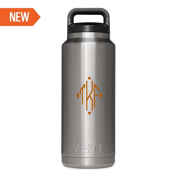 Personalized Yeti Rambler Bottle 36oz Vinyl