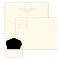 Stacked Monogram Card
