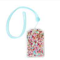 Confetti Lanyard ID Holder
