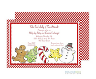 Christmas Cookie Holiday Invitation
