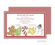 Christmas Cookie Holiday Invitation
