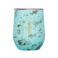 Corkcicle Bali Blue 12 oz Stemless Wine