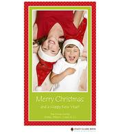 Charming Christmas Flat Digital Holiday Photo Card
