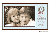 Enchanted Wreath Flat Digital Holiday Photo Card