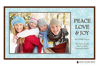 Winter's Magic Flat Digital Holiday Photo Card