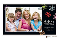 Merry Everything Flat Digital Holiday Photo Card