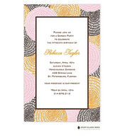 Petal Pushers Pink Invitation