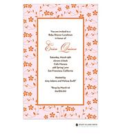 Floral Whisper Pink Invitation