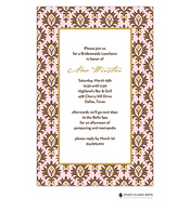 Chateau Orleans Pink Invitation