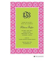 Nautique Pink Invitation