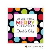 Holiday Cheer Holiday Flat Enclosure Card
