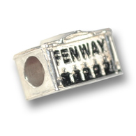 Sterling silver Fenway Park charm.