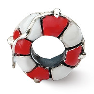 Life Preserver Bead. Compatible with most Pandora Jewelry
