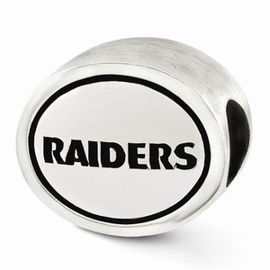Oakland Raiders NFL Bead