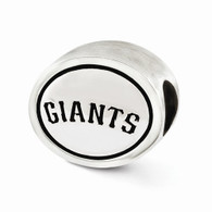 Sterling silver San Francisco Giants Bead
