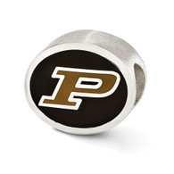 Purdue Boilermakers bead, compatible with Pandora type charm bracelets