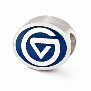 Grand Valley State bead, compatible with most Pandora type jewelry