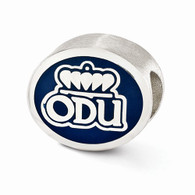 Old Dominion University bead fits most Pandora type charm bracelets