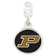 Purdue Boilermakers charmd, compatible with Pandora type charm bracelets