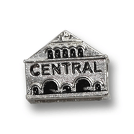 Sterling silver charm of the Lancaster Central Market