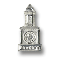 Reading Hospital Clock Tower charm. Made in the USA
