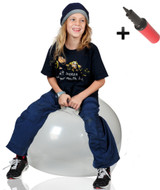 Hoppity Hop Ball Adult Size (transparent)