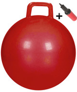 Hoppity Hop Ball Adult Size (plain red)