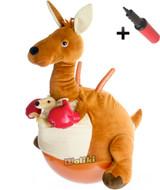 Kangaroo Plush Hopper Ball