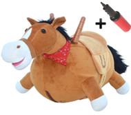 Mr Jones the Bouncy Plush Horse
