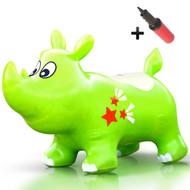 Kent the jumping Rhino (Lime)