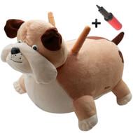 Bouncy Plush Horse Dog