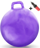 Hippity Hop Ball Adult Size (hurricane purple)
