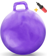 Sit and Bounce Ball: Hurricane Purple (XL)