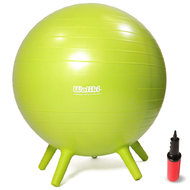 """Chair Ball for Kids: Small, Green 18"""""""
